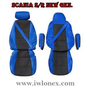 Sitzbezuge passend fur SCANIA R New Generation Blau 2 300x300 - LKW Sitzbezüge passend für SCANIA S u. R New Generation - Blau