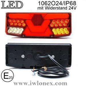 1062 iwlonex 1 300x300 - 1x LED HECKLEUCHTE, RÜCKLEUCHTE 1062 O24IP68