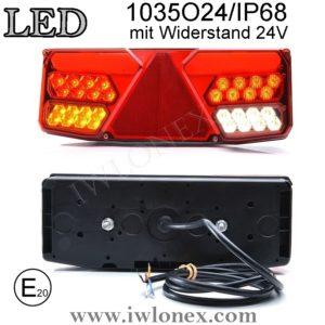 1035 iwlonex 300x300 - 1x LED HECKLEUCHTE, RÜCKLEUCHTE, SCHLUSSLEUCHTE 1035 O24IP68