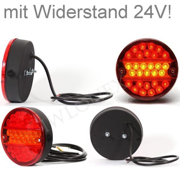 290 iwlonex1 600x601 - 1x LED RÜCKLEUCHTE SCHLUSSLEUCHTE 290 O24V