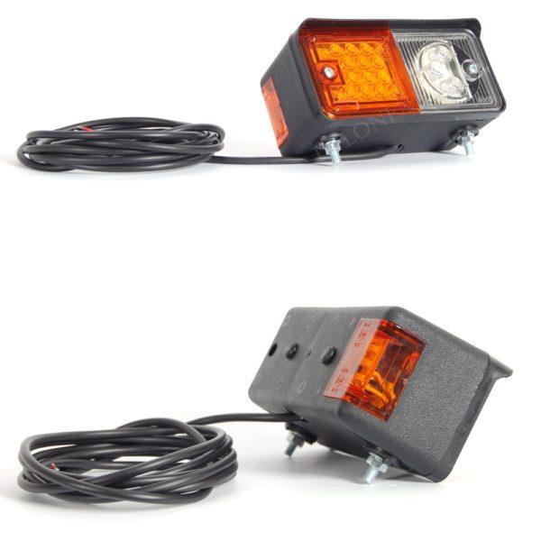 491 iwlonex1 600x600 - 1x LED POSITIONSLEUCHTE mit Blinker Stapler Bagger Trecker 491
