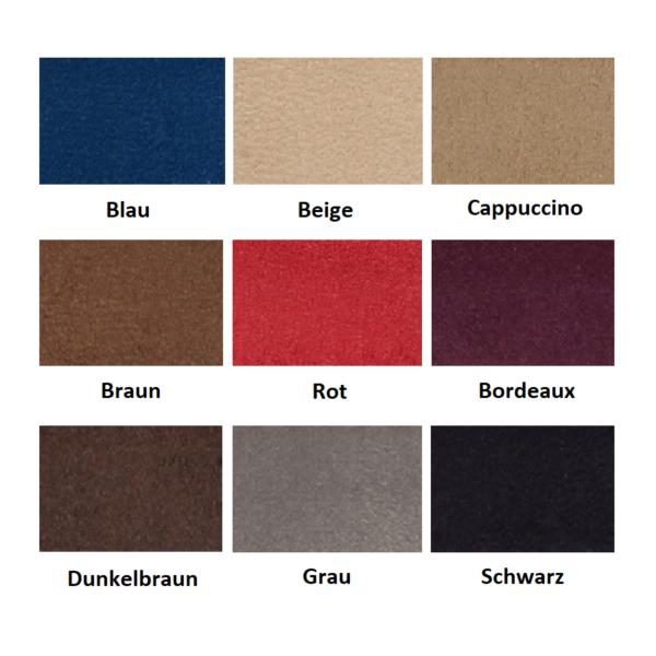 Antara Palette IWLONEX 600x600 - LKW Gardinen 5-teilig Set mit Kunstleder + Haken + Klett-Klebeband - deine Farben