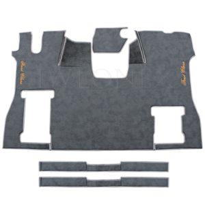 Fussmatten passend fur SCANIA S Marmor Dunkelgrau 1 IWLONEX 300x300 - Fußmatte für SCANIA S + Sitzsockelverkleidung - Marmor - Dunkelgrau
