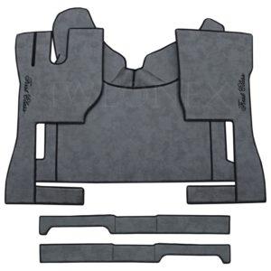 LKW Fussmatten passend fur VOLVO FH4 Marmor Dunkelgrau 1 IWLONEX 300x300 - Fußmatten passend für Volvo FH4 + Sitzsockelverkleidung - Dunkelgrau Marmor