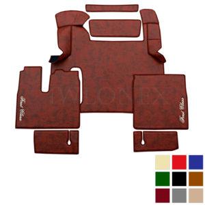 LKW Fussmatten passend fur MAN TGX ab 2018 Marmor deine Farben IWLONEX 300x300 - Fußmatten passend für MAN TGX ab 2018 bis 2019 - Marmor - deine Farben