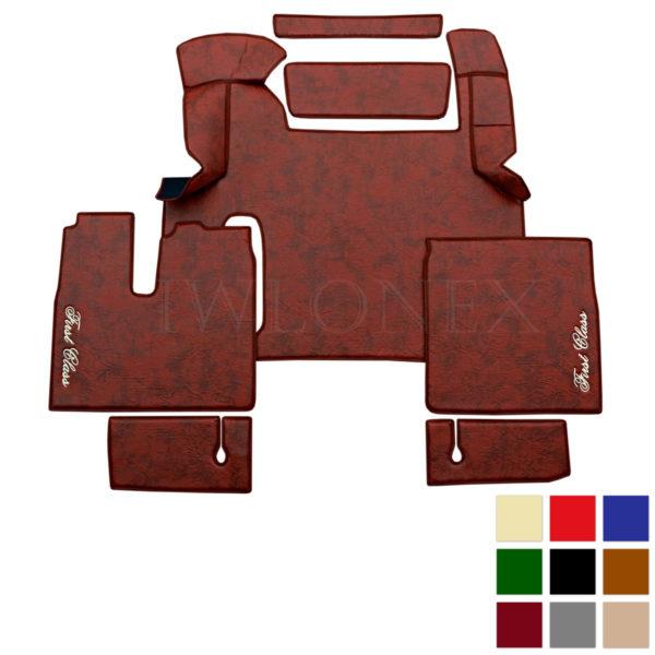 LKW Fussmatten passend fur MAN TGX ab 2018 Marmor deine Farben IWLONEX 600x600 - Fußmatten passend für MAN TGX ab 2018 bis 2019 - Marmor - deine Farben