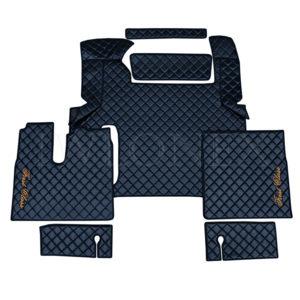 Fussmatten passend fur MAN TGX ab 2018 Schwarz IWLONEX 300x300 - Fußmatten passend für MAN TGX E6 ab 2018 bis 2019 - Schwarz