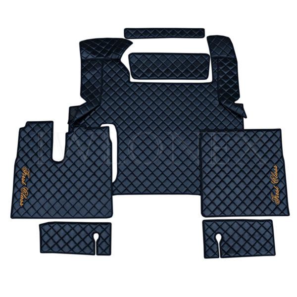 Fussmatten passend fur MAN TGX ab 2018 Schwarz IWLONEX 600x600 - Fußmatten passend für MAN TGX E6 ab 2018 bis 2019 - Schwarz