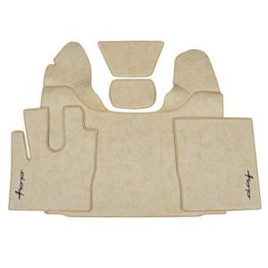 LKW Fussmatten passend fur DAF XF 106 E6 Beige2 Marmor IWLONEX 300x300 - Fußmatten passend für DAF XF EURO6 480 u. 530PS - Marmor - Beige
