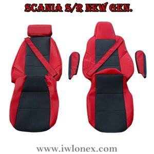 Sitzbezuge passend fur SCANIA R New Generation Rot 3 300x300 - LKW Sitzbezüge passend für SCANIA S u. R New Generation - Rot/Schwarz