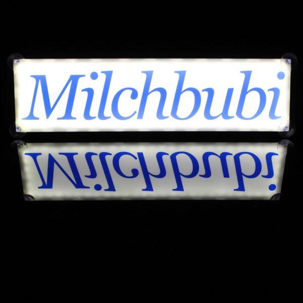 IMG 0735 600x600 - 1 LKW LED NAMENSCHILD 24V MILCHBUBI