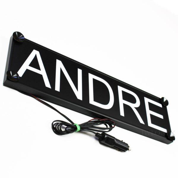 IMG 0747 600x600 - 1 LKW LED NAMENSCHILD 24V ANDRE
