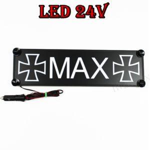 IMG 0748 300x300 - 1 LKW LED NAMENSCHILD 24V MAX
