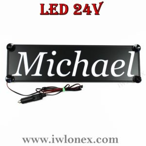 IMG 0750 300x300 - 1 LKW LED NAMENSCHILD 24V MICHAEL
