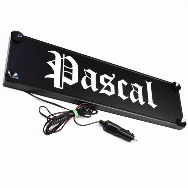 IMG 0753 600x600 - 1 LKW LED NAMENSCHILD 24V PASCAL