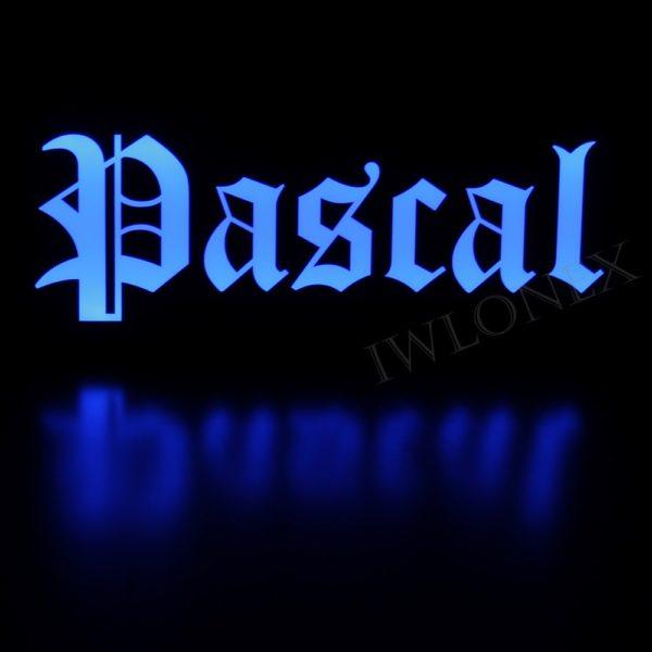 IMG 0765 600x600 - 1 LKW LED NAMENSCHILD 24V PASCAL