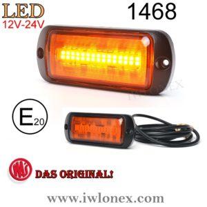 1468 iwlonex 300x300 - 1x LED WARNLEUCHTE FRONTBLITZER GELB WAS 1468