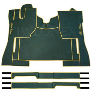 Fussmatten passend fur VOLVO FH4 Grun Marmor IWLONEX 300x300 - Fußmatten passend für Volvo FH4 + Sitzsockelverkleidung - Grün Marmor
