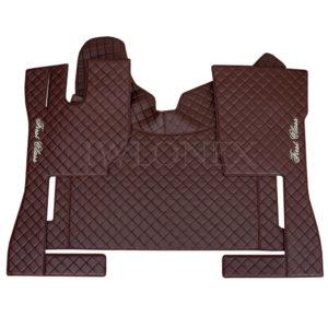 LKW Fussmatten passend fur VOLVO FH4 Dunkelbraun IWLONEX 300x300 - Fußmatten passend für VOLVO FH4 Automatik Dunkelbraun