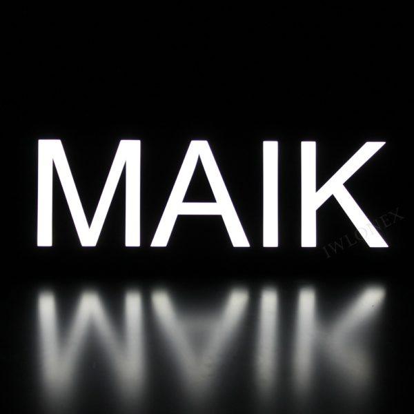 Maik1 600x600 - 1 LKW LED NAMENSCHILD Kastenschild 12V! MAIK