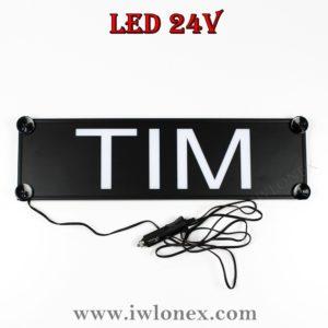 tim 300x300 - 1 LKW LED NAMENSCHILD Kastenschild 24V TIM