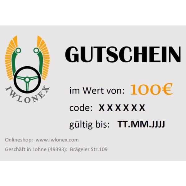 GUTSCHEIN IWLONEX 100EU beispiel 600x600 - Geschenkgutschein, Einkaufsgutschein, Gutschein 100€