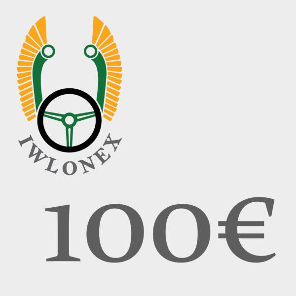 Gutschein 100EU iwlonex 1 600x600 - Geschenkgutschein, Einkaufsgutschein, Gutschein 100€