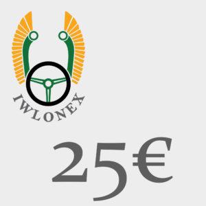 Gutschein 25EU iwlonex 300x300 - Geschenkgutschein, Einkaufsgutschein, Gutschein 25€