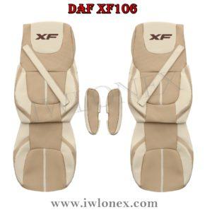 Sitzbezuge passend fur DAF XF E6 Cappuccino Beige IWLONEX 300x300 - LKW Sitzbezüge passend für DAF XF106