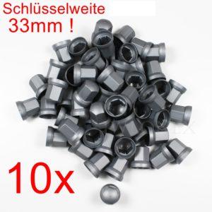 32mm silber 300x300 - 10x RADMUTTERKAPPEN 33mm HÖHE 54mm Grau