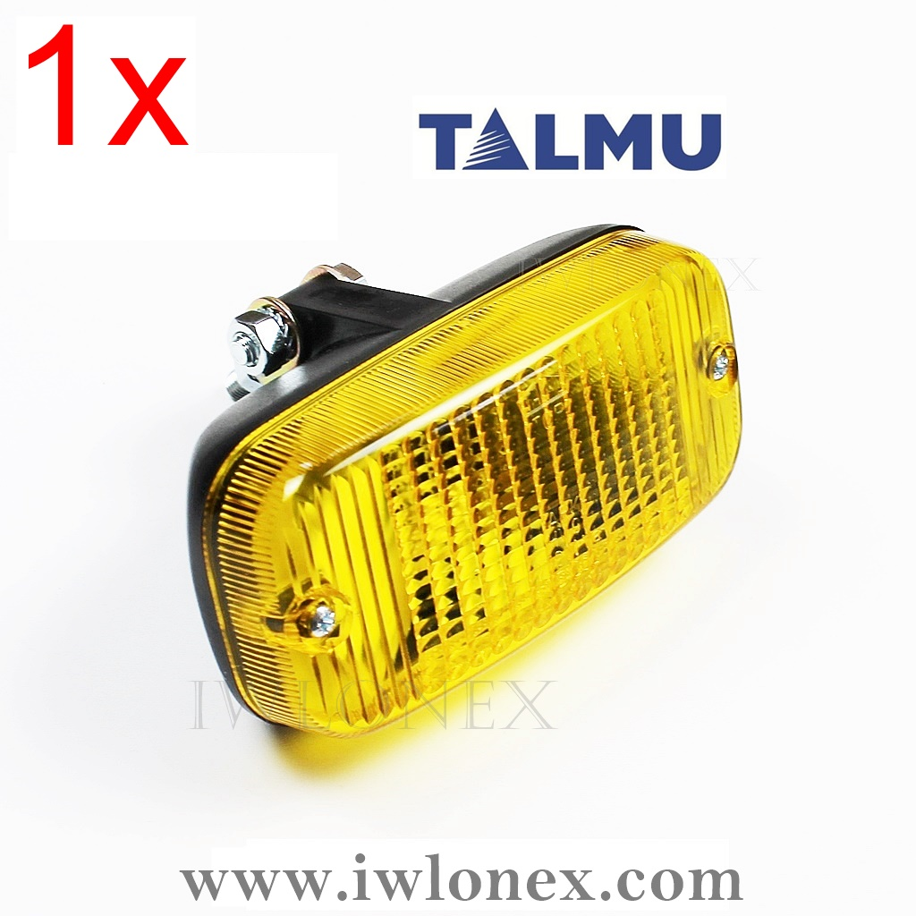 IMG 0976 Kopie - 1x LED TAGFAHRLICHT TAGFAHRLEUCHTE GELB TALMU